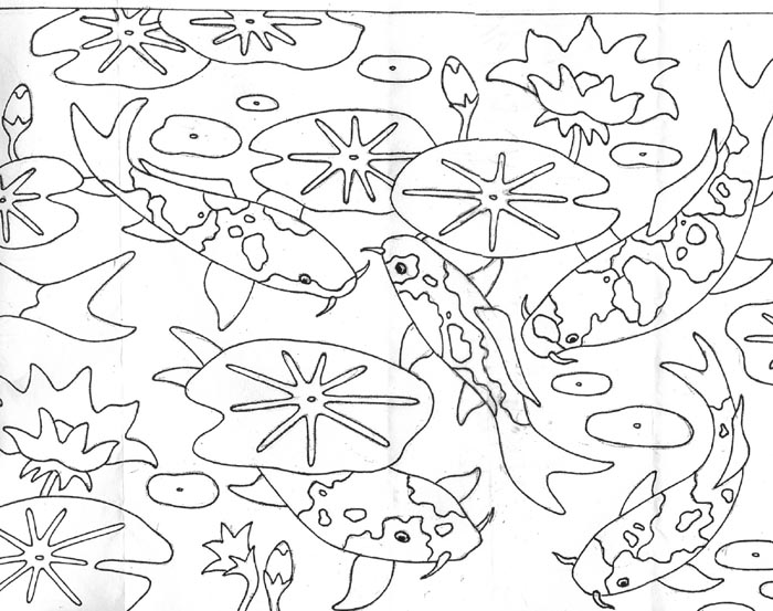 pond coloring pages - pond animals free colouring pages